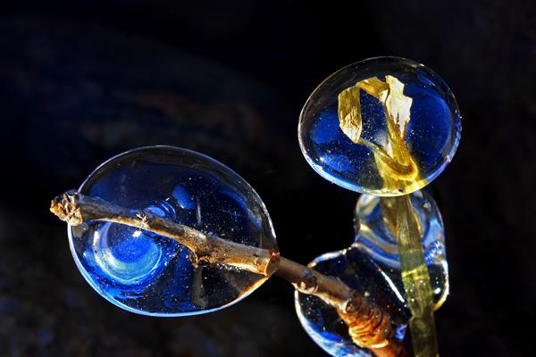 Sphères de glace