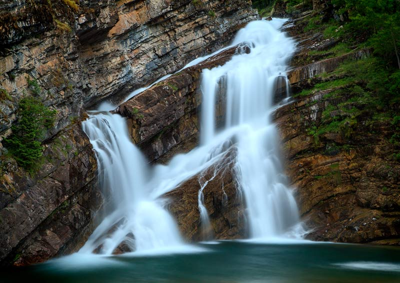 Cameron Falls - gros-plan