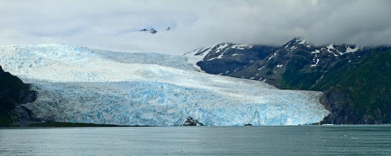 Glacier Aialik - pano