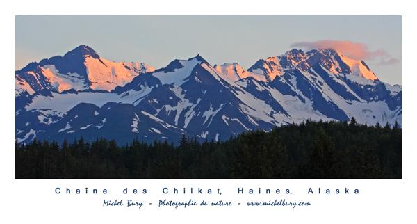 Chaîne des Chilkat, Haines, Alaska