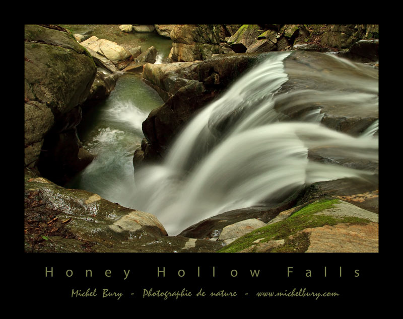 Honey Hollow Falls - Affiche