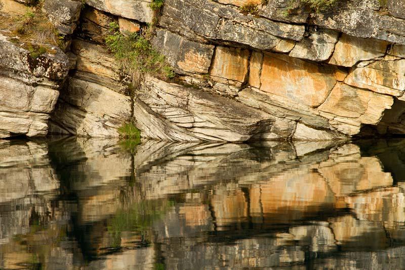 Réflexion à Horseshoe Lake - Détail 1
