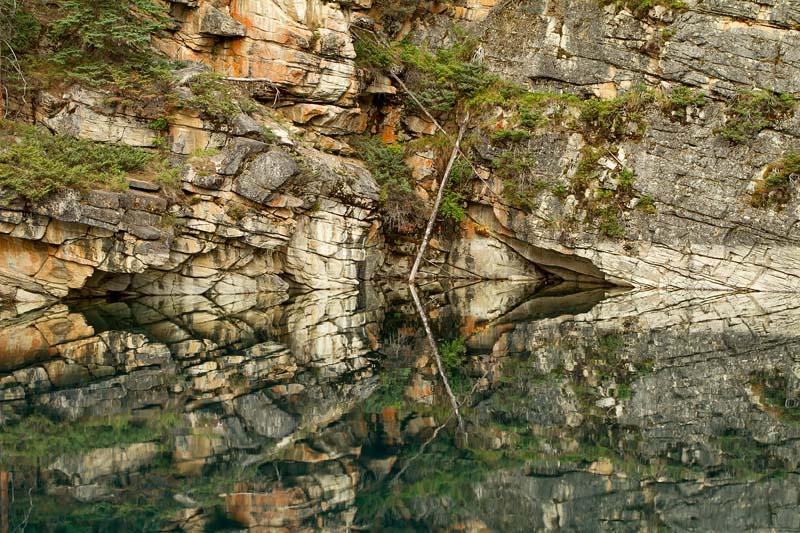 Réflexion à Horseshoe Lake