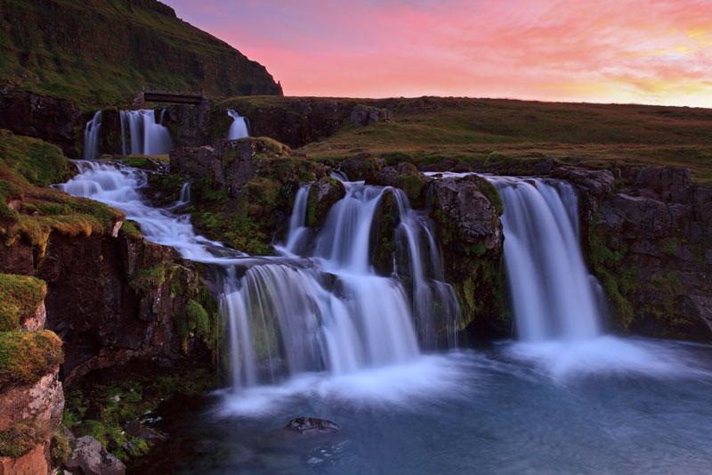 Kirkjufellfoss au coucher du soleil 2