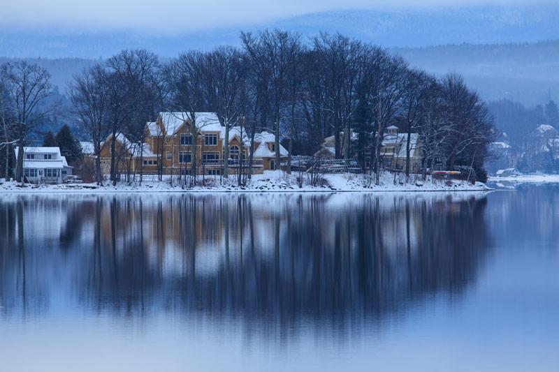 Réflexion hivernale