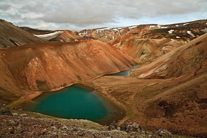 Lacs du Landmannalaugar