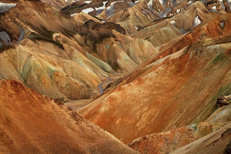 Montagnes du Landmannalaugar