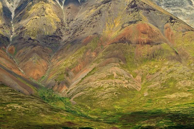 Montagnes du Broad Pass