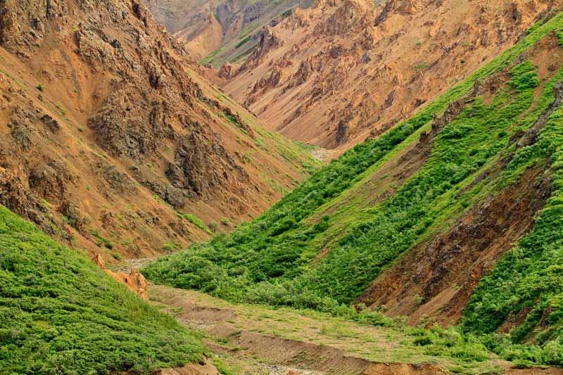 Montagnes de Toklat River