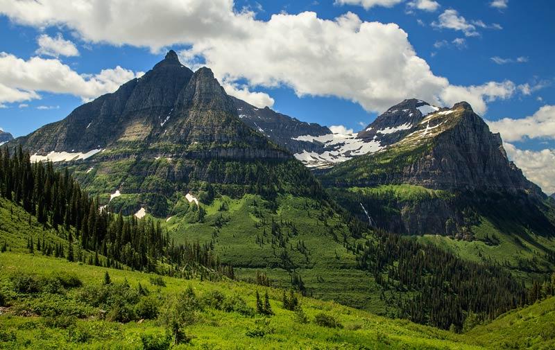 Mont Oberlin au col Logan