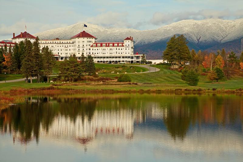 Mount Washington Resort à l'automne