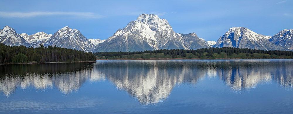 Mont Moran & Jackson Lake