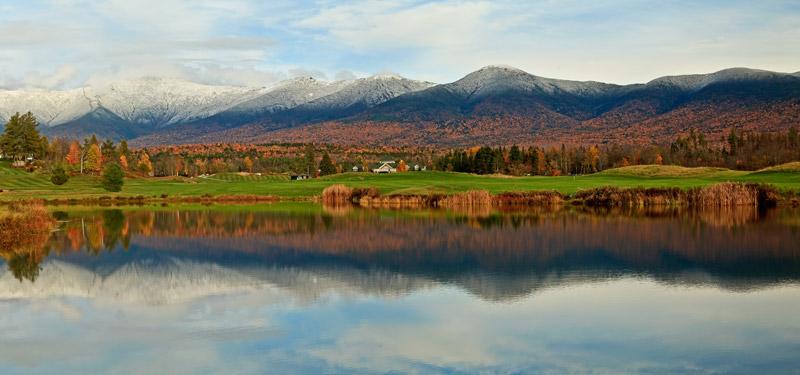 Mont Washington à l'automne