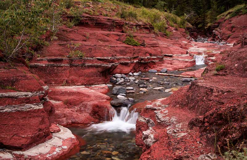 Red Rock Canyon - Deux cascades