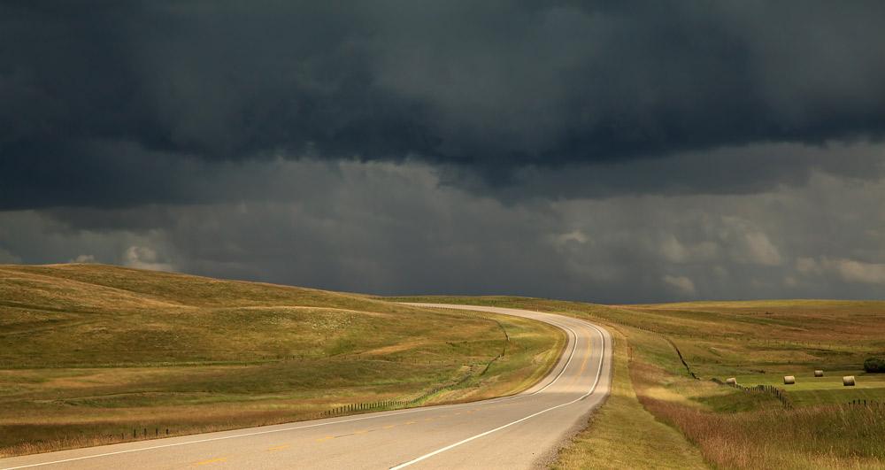 Vers l'orage