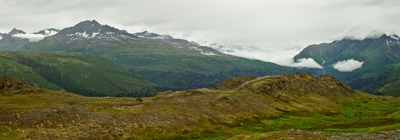 Thompson Pass - pano