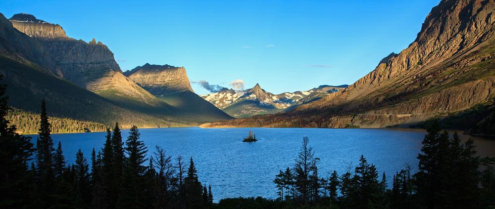 Lac Saint Mary au lever du soleil 2