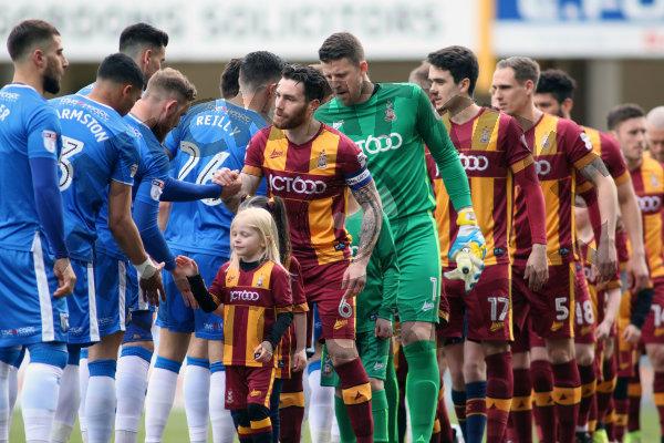 Bradford City v Gillingham (Sky Bet Div 1)
