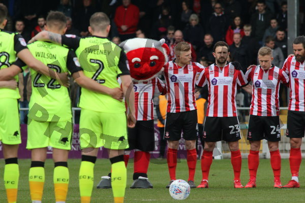 Lincoln City v Exeter City (Sky Bet Div 2)