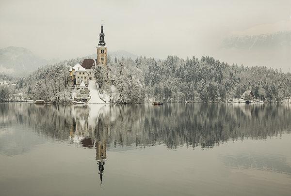 Lake Bled Winter