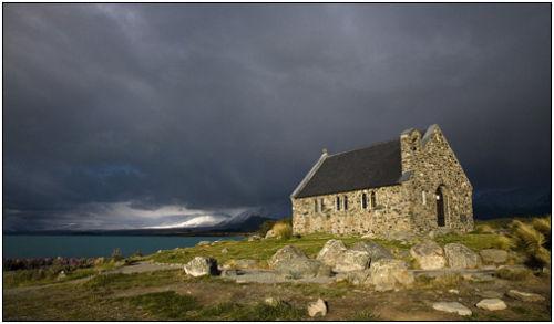 church of the good shepherd, lake tekapo,nz