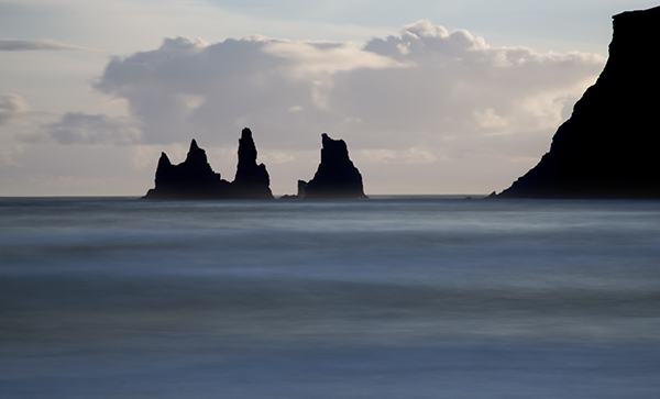 rock stacks vik