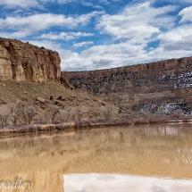 Canyon land