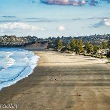 Beach scene north of Aukland