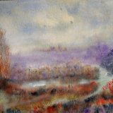 Autumn Backwater  SOLD