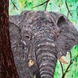 Elephant -Warning -Us-SOLD