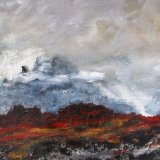 Lava Fields and Glaciers  Iceland SOLD