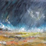 Storm  on  the  Beach  SOLD