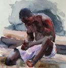 Fisherman in Ghana