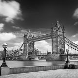 Tower Bridge in BW