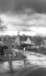 Cemetery Scene
