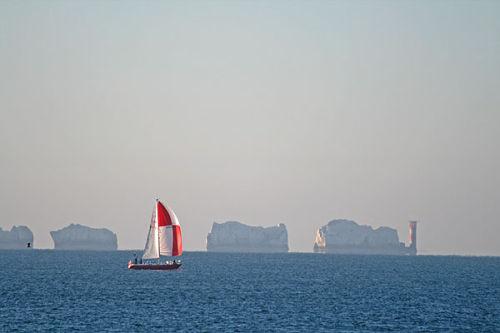 Sailing past the Needles