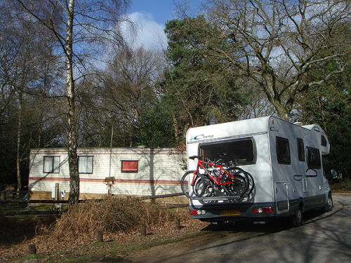 Mobile home and caravan