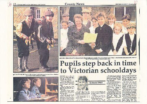 West Sussex Gazette newspaper feature 2