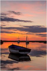Sunset at Brancaster Staithe