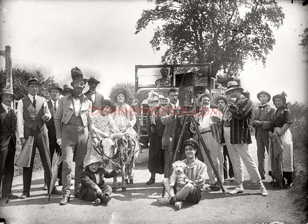 Actors & Film Crew Group Shot