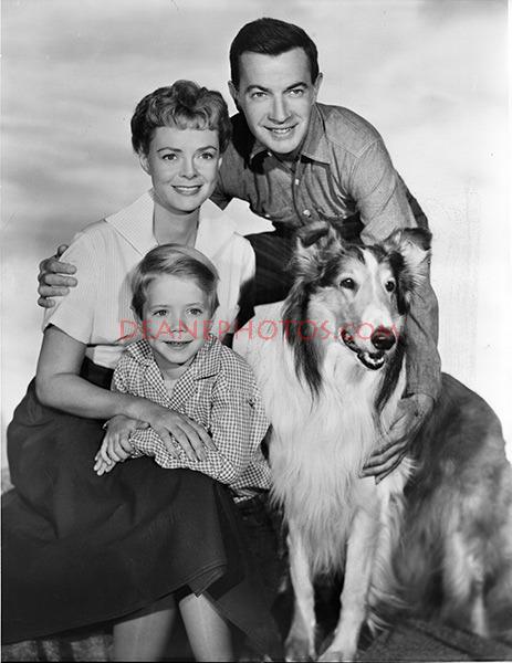 June Lockart & Lassie-1955