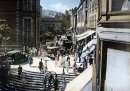 Market Square St Peter Port in the 1930's
