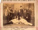 Officer's Mess Staff & Servants taken at Alderney March 28th 1888