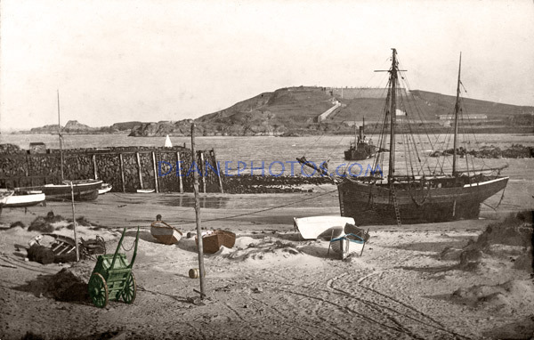 PHOTOS FROM HISTORY - Deane Photographic Archives: The Old Harbour Alderney