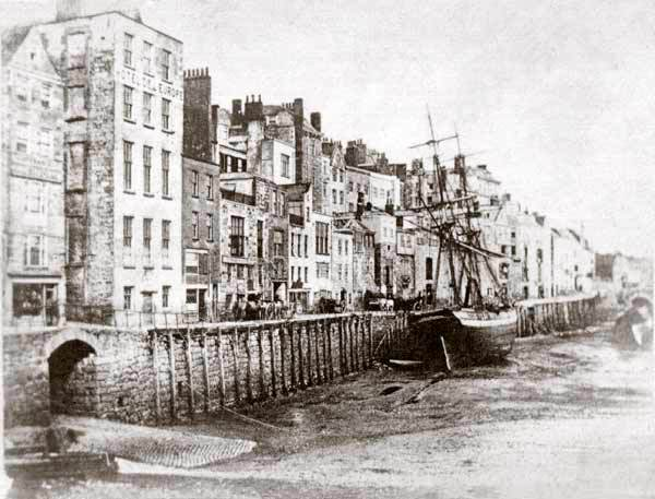 PHOTOS FROM HISTORY - Deane Photographic Archives: Old Harbour Showing Cow Lane