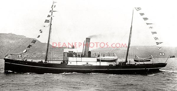 S.S. Courier off Alderney