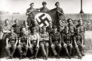 May 1945 Group Image with Swastika