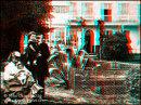 Victor Hugo & Grand- Children in 3D - Enlargement