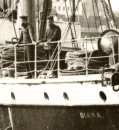 Two crew of the Steamer 'Diana'