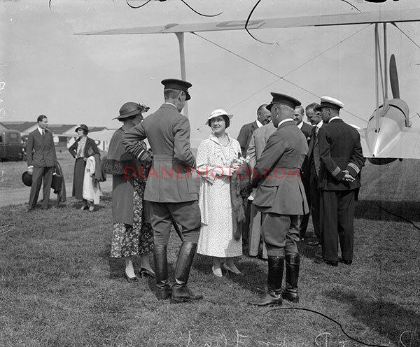 Duke & Duchess Fly To Belgium June 1935 PNA